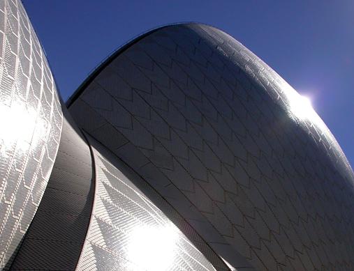 Sydney Opera House Abstract